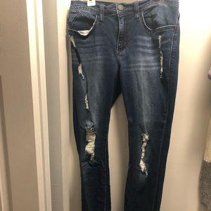 Rock & Republic Ripped Skinny Jeans